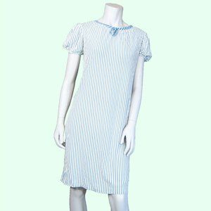 60s Striped Mini Dress S